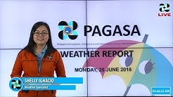 Public Weather Forecast Issued at 4:00 AM June 25, 2018