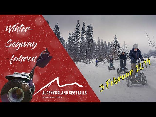 Segway Tour in den Bergen - Schnee Abenteuer am 3.Februar in Westendorf Tirol