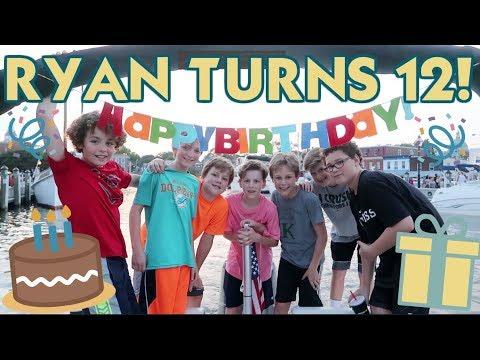RYAN'S 12TH BIRTHDAY PARTY!