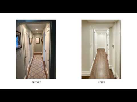 Prewar Apartment Combination - 40 W 72nd St, NYC BEFORE & AFTER