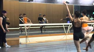 Teaching Ballet at the Tokyo City Ballet