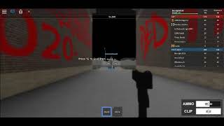 Raiding 020th (roblox) (020th member got rekted and we raided they block they got mad)