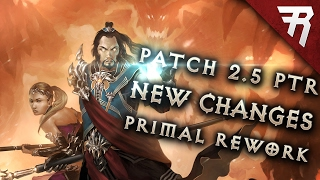 Diablo 3 Patch 2.5 UPDATE - Balance Changes, Primal Ancient Rework (Season 10)