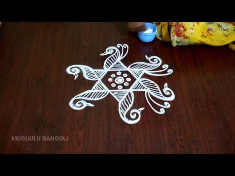 Sravana Sukravaram Muggulu Designs Easy Simple Rangoli Design