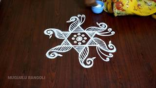 sravana sukravaram muggulu designs easy simple rangoli design rangoli latest designs telugu rangoli
