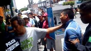 Ciudadanos capturan a asaltante en Cuautla, Morelos. 27 de agosto del 2013
