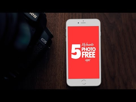 Top 5  FREE Photography Apps For 2018!