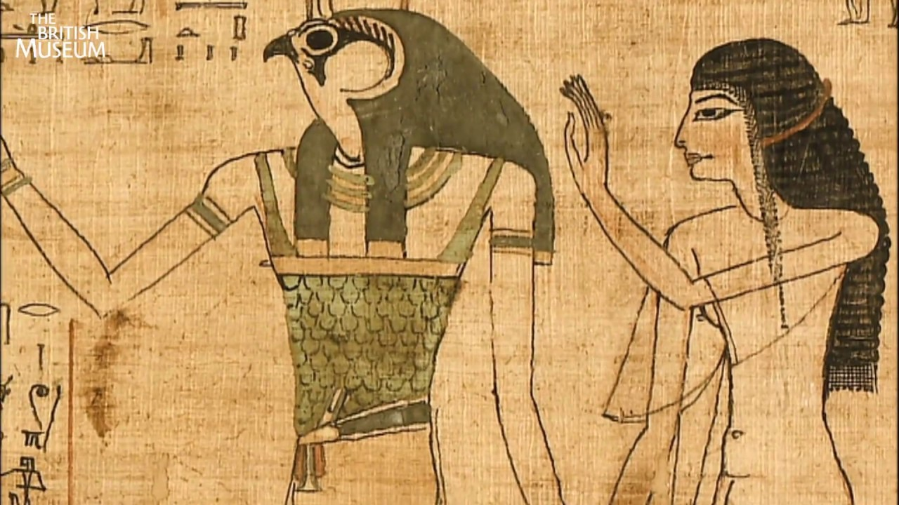 an examination of the information in the form of vignettes and hieroglyphics in the book of the dead