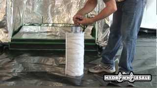 HydroWholesale™ presents an instructional grow room video on how to...