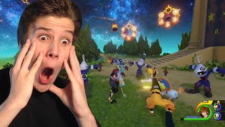 KINGDOM HEARTS 3 Jump Festa 2016 Trailer REACTION!