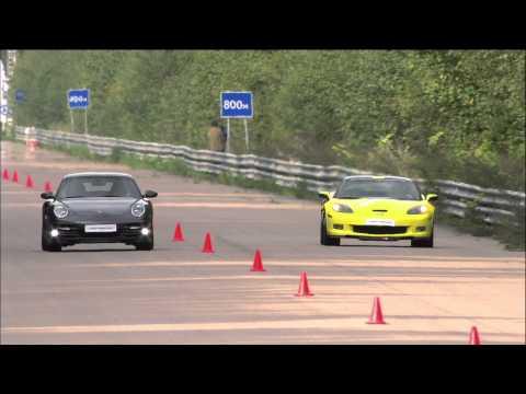Chevrolet Corvette ZR1 vs Porsche 911 Turbo