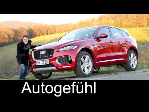Jaguar F-PACE S V6 380 hp FULL REVIEW test driven 2017 - Autogefühl