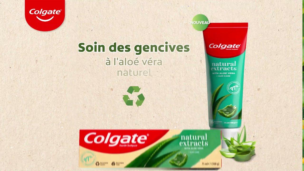 Colgate Natural Extracts à l'Aloé Véra Naturel