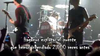 Green Day - F.O.D. @Live Irving Plaza 2012 (Subtitulado)