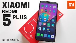 RECENSIONE XIAOMI REDMI 5 PLUS | Face Unlock e Gestures come iPhone X