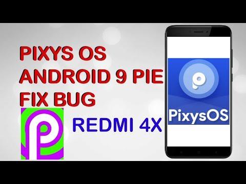 REVIEW CUSROM PIXYS OS ANDROID 9 Pie PADA REDMI 4X | SKOR