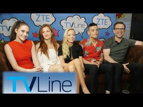 Mr. Robot Interview | TVLine Studio Presented by ZTE | Comic-Con 2016