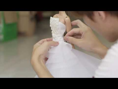 The Making of Vanity Bride DeMuse Doll by Nigel Chia