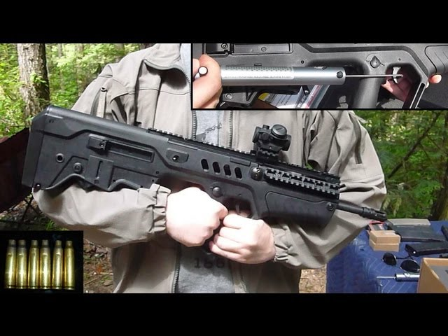 IWI TAVOR SAR Initial Review & Shooting Impressions: IDF's Awesome Bullpup, Now in Civilian Flavor