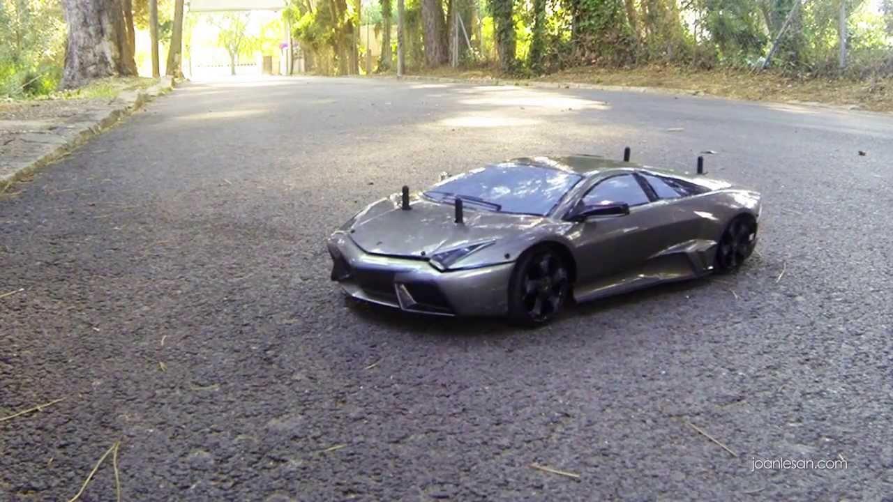 Lamborghini Reventon Rc Nitro Tomas Desde El Drone Planeta