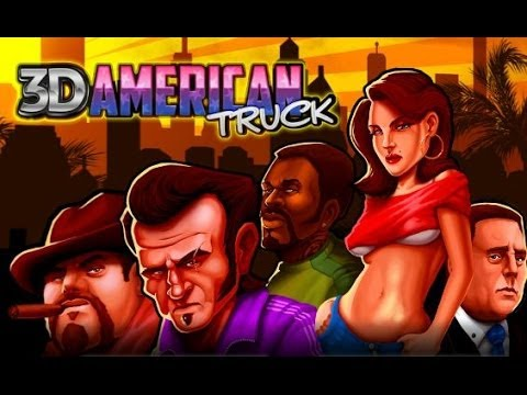 3D American Truck Test Drive - Free Game Unity3D Magicolo 2014