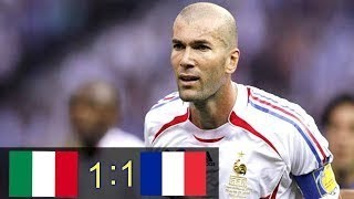 Скачать Italy VS France World Cup 2006 Final 1 1 5 3 HD