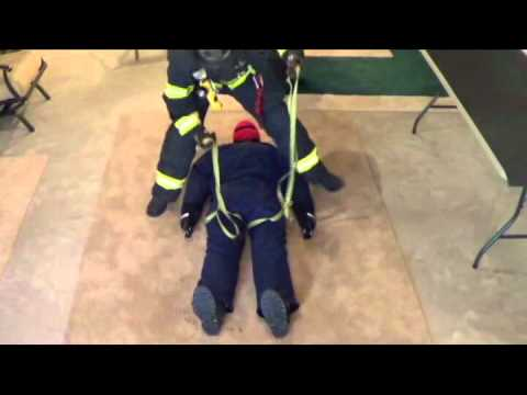 hqdefault single firefighter hasty harness for victim rescue youtube hasty harness at crackthecode.co