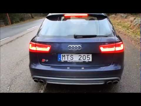 audi s6 avant 2013 inclusive launch control youtube. Black Bedroom Furniture Sets. Home Design Ideas