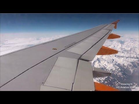 Easyjet EZY3245 London Stansted (STN) - Ljubljana (LJU) A319 G-EZFT *FULL FLIGHT* 28/3/14 [1080p HD]