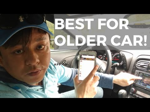 How to stream music from iPhone 7 thru Older Car Speakers w/o Bluetooth or Aux input