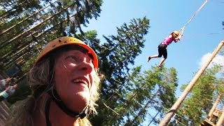 High Ropes Challenge! - Dudesons VLOG