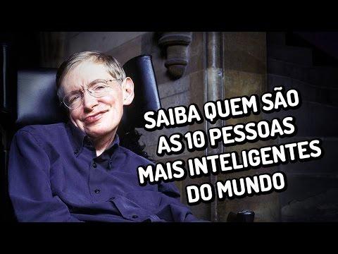 Saiba quem são as 10 pessoas mais inteligentes do mundo