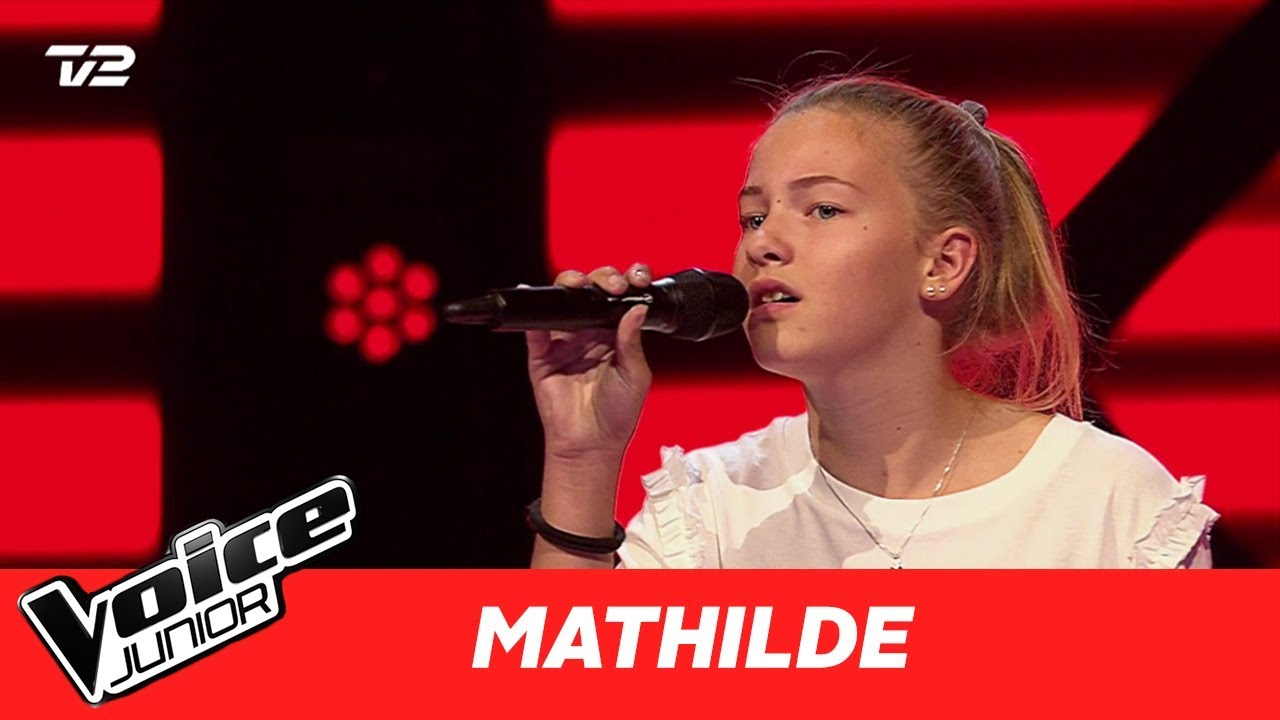 mathilde riptide af vance joy blind 1 voice junior danmark 2017