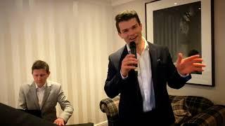 Nick Pritchard Singing Frank Sinatra Medley with Mike Kenton