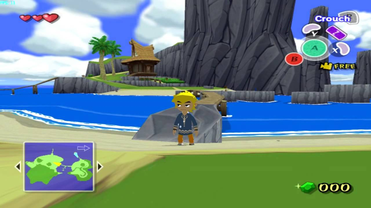 Dolphin: Zelda Oot Widescreen Hack and HD texture pack ...