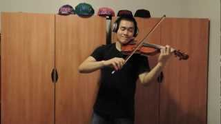 Nothing Like Us - Justin Bieber (Violin Cover) Instrumental by William Wang