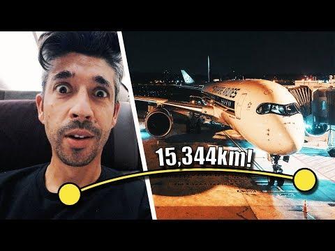 Surviving The WORLD'S LONGEST FLIGHT