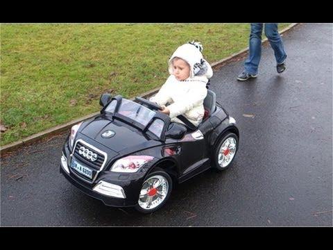 Audi Electric Ride On Car Battery Powered Audi Tt Minicar