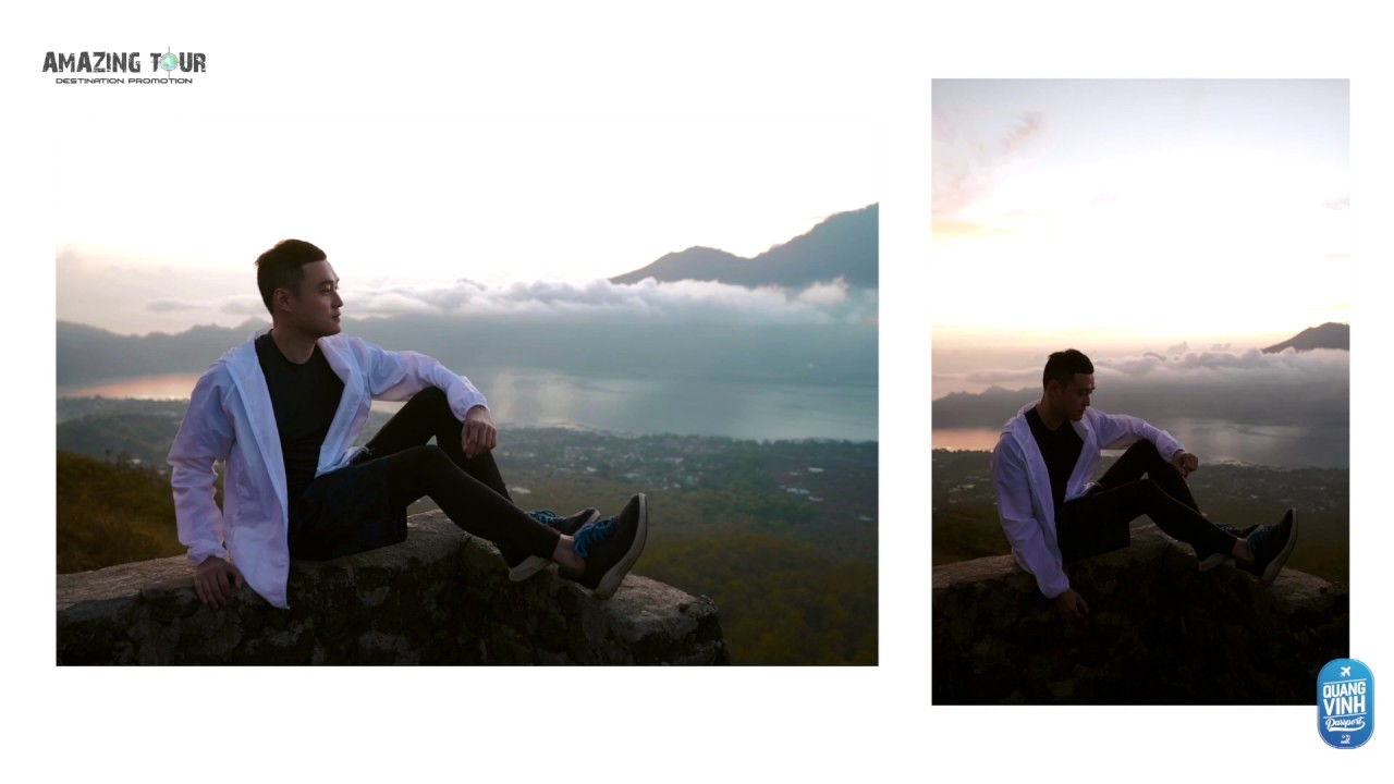 [AT5] Quang Vinh trekking núi lửa Batur