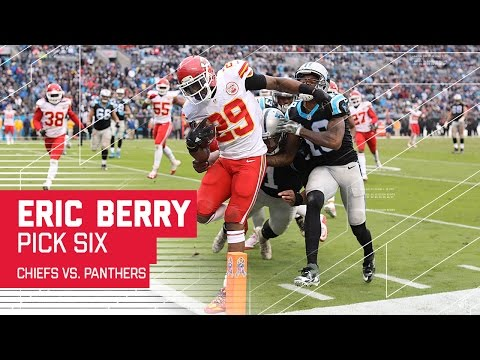 Eric Berry Snags the Pick Six off of Cam Newton! | Chiefs vs. Panthers | NFL