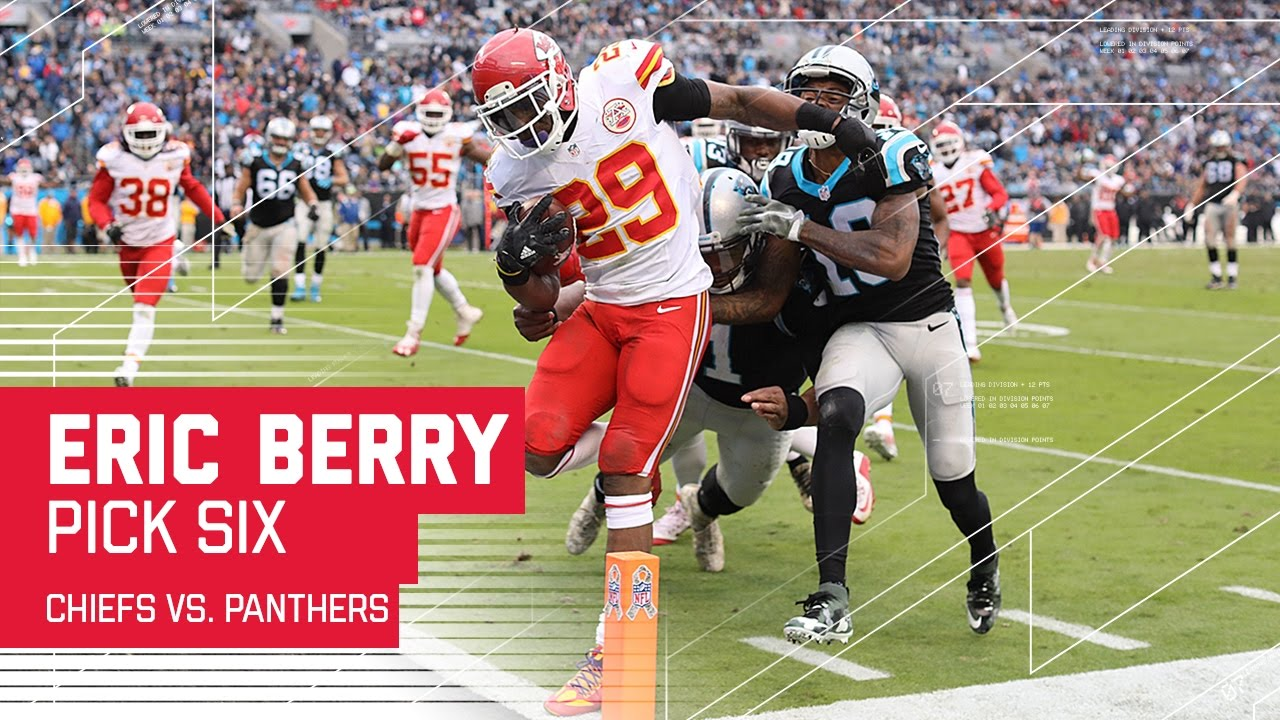 Eric Berry Snags the Pick Six off of Cam Newton