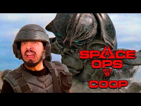 STARSHIP TROOPERS en REALIDAD VIRTUAL! Space OPS VR - Gameplay cooperativo