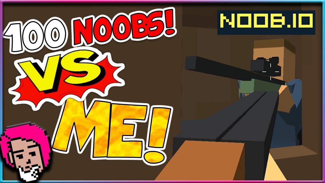 Repeat Me VS 100 Noobs! 🤯 Noob io by Skylent Games - You2Repeat