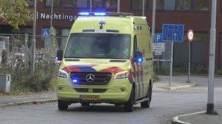 A1 [Nieuwe] Ambulance 20-141 met spoed naar Wouwerdries Hilvarenbeek