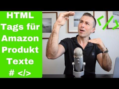 Amazon FBA Produktbeschreibung Mit HTML Formatieren, Ohne Editor