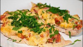 Куриное филе с помидорами и сыром Рецепт быстрого ужина
