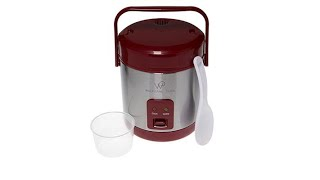 Wolfgang Puck Stainless Steel 1.5Cup Rice Cooker