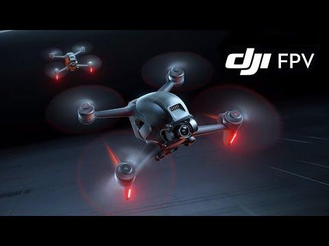 Фото DJI FPV DRONE FIRST FLIGHT IN SPORT MODE