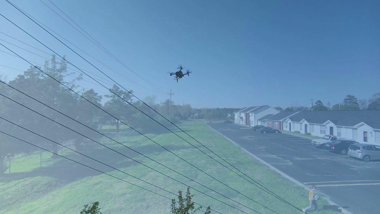 DJI FPV DRONE FIRST FLIGHT IN SPORT MODE картинки
