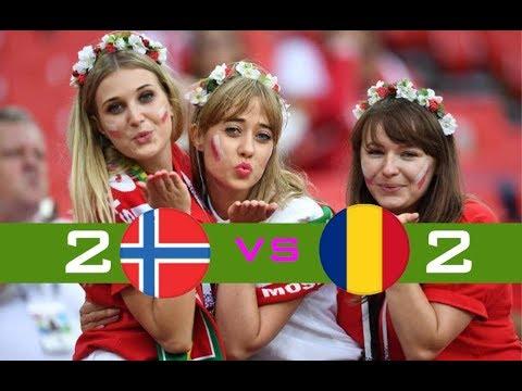 Norway VS Rumania 2-2 (European Qualifiers 2019)